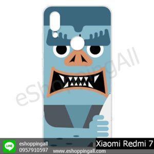 MXI-013A113 Xiaomi Redmi 7 เคสมือถือเสี่ยวมี่แบบแข็งพิมพ์ลาย