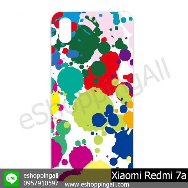 MXI-014A104 Xiaomi Redmi 7a เคสมือถือเสี่ยวมี่แบบแข็งพิมพ์ลาย