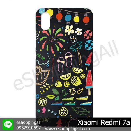 MXI-014A105 Xiaomi Redmi 7a เคสมือถือเสี่ยวมี่แบบแข็งพิมพ์ลาย
