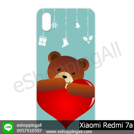 MXI-014A109 Xiaomi Redmi 7a เคสมือถือเสี่ยวมี่แบบแข็งพิมพ์ลาย