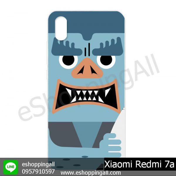 MXI-014A112 Xiaomi Redmi 7a เคสมือถือเสี่ยวมี่แบบแข็งพิมพ์ลาย