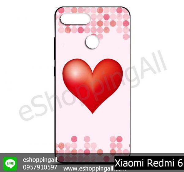 MXI-011A101 Xiaomi Redmi 6 เคสมือถือเสี่ยวมี่ยางนิ่มพิมพ์ลาย