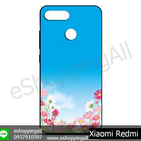 MXI-011A102 Xiaomi Redmi 6 เคสมือถือเสี่ยวมี่ยางนิ่มพิมพ์ลาย