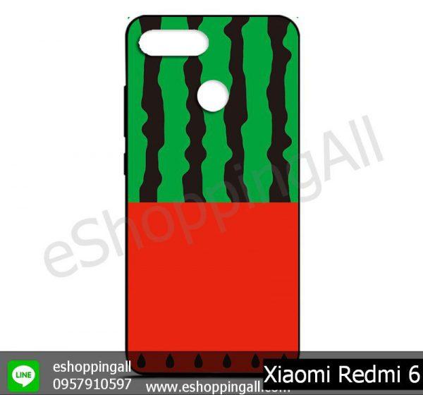 MXI-011A103 Xiaomi Redmi 6 เคสมือถือเสี่ยวมี่ยางนิ่มพิมพ์ลาย
