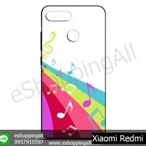 MXI-011A104 Xiaomi Redmi 6 เคสมือถือเสี่ยวมี่ยางนิ่มพิมพ์ลาย