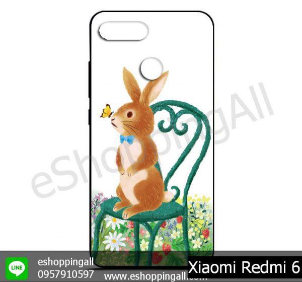 MXI-011A105 Xiaomi Redmi 6 เคสมือถือเสี่ยวมี่ยางนิ่มพิมพ์ลาย