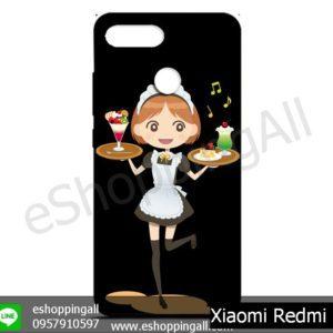MXI-011A107 Xiaomi Redmi 6 เคสมือถือเสี่ยวมี่ยางนิ่มพิมพ์ลาย
