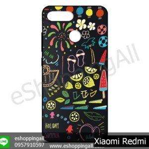 MXI-011A110 Xiaomi Redmi 6 เคสมือถือเสี่ยวมี่ยางนิ่มพิมพ์ลาย
