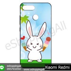 MXI-011A111 Xiaomi Redmi 6 เคสมือถือเสี่ยวมี่ยางนิ่มพิมพ์ลาย