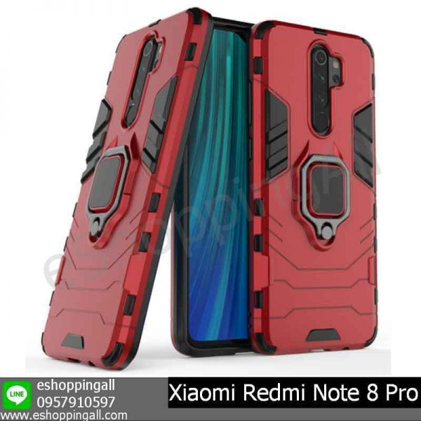 MXI-009A302 Xiaomi Redmi Note 8 Pro เคสมือถือเสี่ยวมี่กันกระแทก พร้อมแหวนแม่เหล็ก