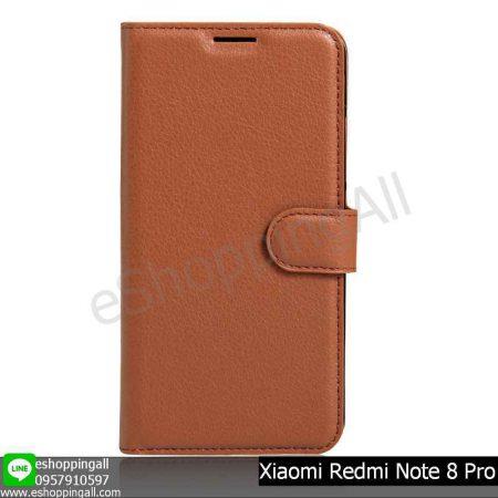 MXI-009A502 Xiaomi Redmi Note 8 Pro เคสมือถือเสี่ยวมี่แบบหนังฝาพับ