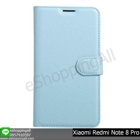 MXI-009A504 Xiaomi Redmi Note 8 Pro เคสมือถือเสี่ยวมี่แบบหนังฝาพับ