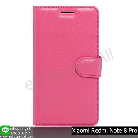 MXI-009A505 Xiaomi Redmi Note 8 Pro เคสมือถือเสี่ยวมี่แบบหนังฝาพับ