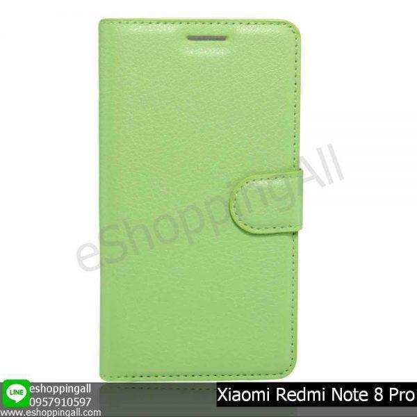 MXI-009A507 Xiaomi Redmi Note 8 Pro เคสมือถือเสี่ยวมี่แบบหนังฝาพับ