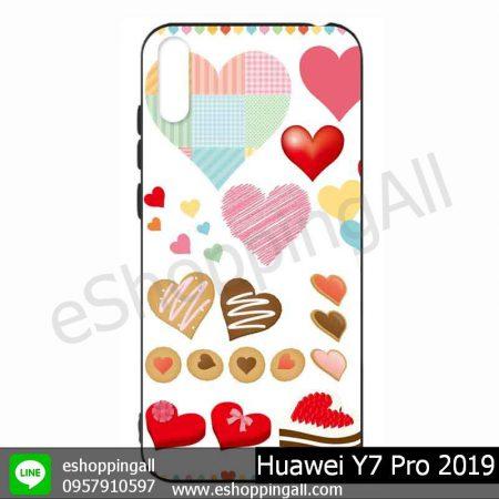 MHW-021A110 Huawei Y7 Pro 2019 เคสมือถือหัวเหว่ยแบบยางนิ่มพิมพ์ลาย