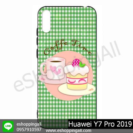 MHW-021A113 Huawei Y7 Pro 2019 เคสมือถือหัวเหว่ยแบบยางนิ่มพิมพ์ลาย