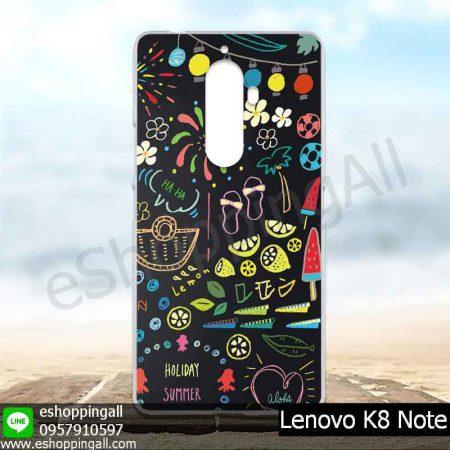 MLV-001A114 Lenovo K8 Note เคสมือถือแบบแข็งพิมพ์ลาย