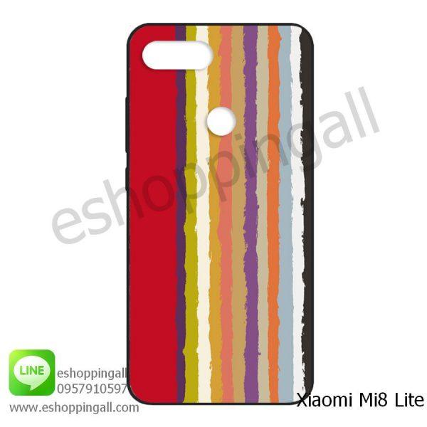 MXI-008A105 Xiaomi Mi8 Lite เคสมือถือเสี่ยวมี่ยางนิ่มพิมพ์ลาย