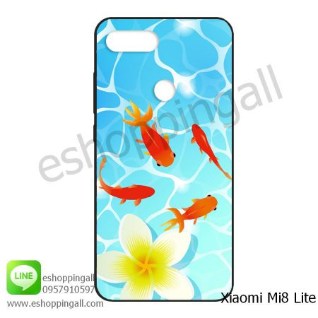 MXI-008A110 Xiaomi Mi8 Lite เคสมือถือเสี่ยวมี่ยางนิ่มพิมพ์ลาย