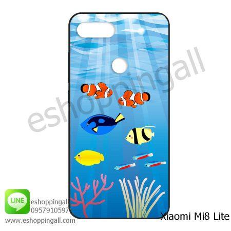 MXI-008A111 Xiaomi Mi8 Lite เคสมือถือเสี่ยวมี่ยางนิ่มพิมพ์ลาย