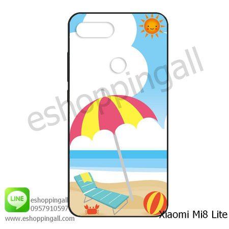 MXI-008A112 Xiaomi Mi8 Lite เคสมือถือเสี่ยวมี่ยางนิ่มพิมพ์ลาย