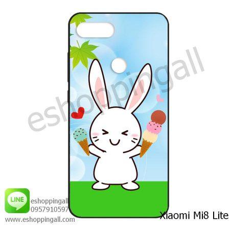 MXI-008A113 Xiaomi Mi8 Lite เคสมือถือเสี่ยวมี่ยางนิ่มพิมพ์ลาย