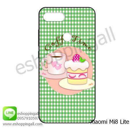 MXI-008A114 Xiaomi Mi8 Lite เคสมือถือเสี่ยวมี่ยางนิ่มพิมพ์ลาย
