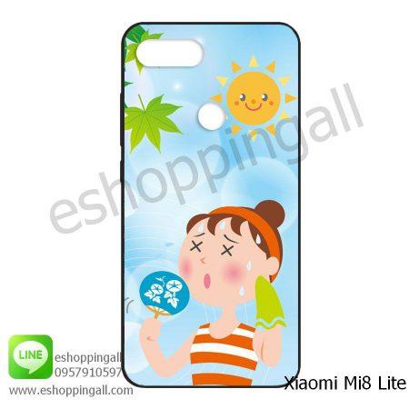 MXI-008A115 Xiaomi Mi8 Lite เคสมือถือเสี่ยวมี่ยางนิ่มพิมพ์ลาย