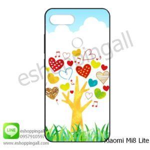 MXI-008A118 Xiaomi Mi8 Lite เคสมือถือเสี่ยวมี่ยางนิ่มพิมพ์ลาย