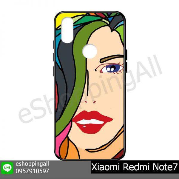 MXI-015A102 Xiaomi Redmi Note 7 เคสมือถือเสี่ยวมี่แบบยางนิ่มพิมพ์ลาย