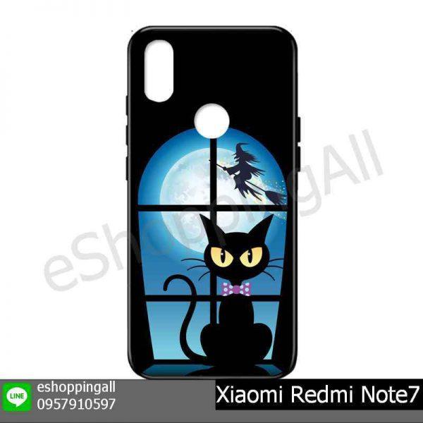 MXI-015A105 Xiaomi Redmi Note 7 เคสมือถือเสี่ยวมี่แบบยางนิ่มพิมพ์ลาย