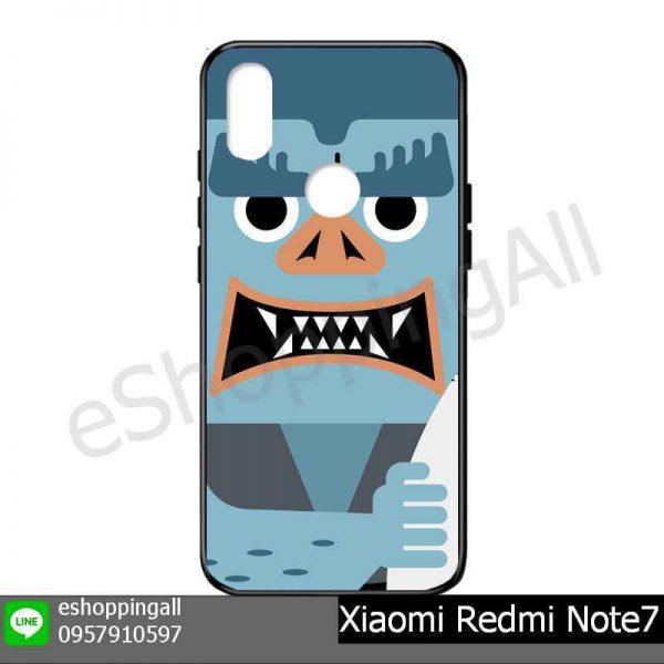 MXI-015A106 Xiaomi Redmi Note 7 เคสมือถือเสี่ยวมี่แบบยางนิ่มพิมพ์ลาย