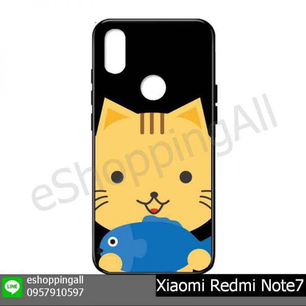 MXI-015A109 Xiaomi Redmi Note 7 เคสมือถือเสี่ยวมี่แบบยางนิ่มพิมพ์ลาย