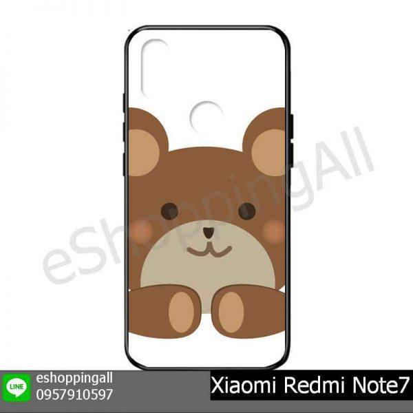 MXI-015A110 Xiaomi Redmi Note 7 เคสมือถือเสี่ยวมี่แบบยางนิ่มพิมพ์ลาย
