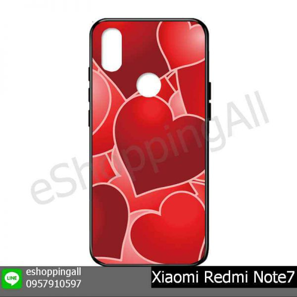 MXI-015A113 Xiaomi Redmi Note 7 เคสมือถือเสี่ยวมี่แบบยางนิ่มพิมพ์ลาย