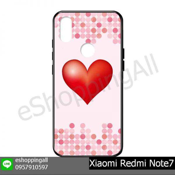 MXI-015A116 Xiaomi Redmi Note 7 เคสมือถือเสี่ยวมี่แบบยางนิ่มพิมพ์ลาย