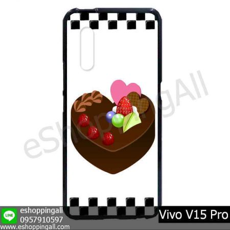 MVI-008A112 Vivo V15 Pro เคสมือถือวีโว่แบบยางนิ่มพิมพ์ลาย