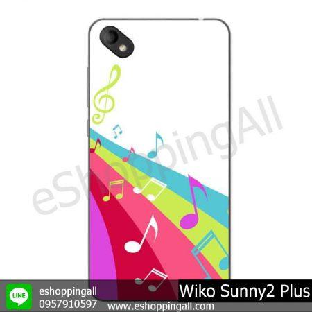 MWI-018A109 Wiko Sunny 2 Plus เคสมือถือวีโก้ซันนี่แบบยางนิ่มพิมพ์ลาย