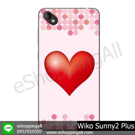 MWI-018A110 Wiko Sunny 2 Plus เคสมือถือวีโก้ซันนี่แบบยางนิ่มพิมพ์ลาย