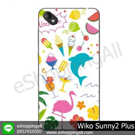 MWI-018A114 Wiko Sunny 2 Plus เคสมือถือวีโก้ซันนี่แบบยางนิ่มพิมพ์ลาย