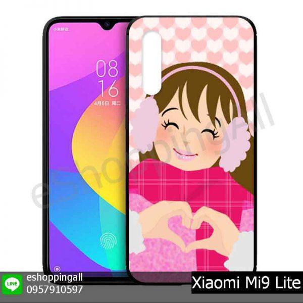 MXI-016A101 Xiaomi Mi9 Lite เคสมือถือเสี่ยวมี่แบบยางนิ่มพิมพ์ลาย