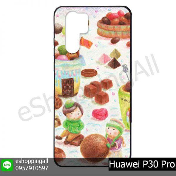 MHW-022A105 Huawei P30 Pro เคสมือถือหัวเหว่ยแบบยางพิมพ์ลาย