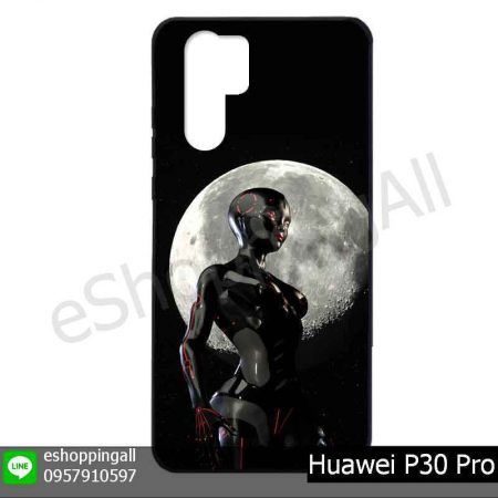 MHW-022A118 Huawei P30 Pro เคสมือถือหัวเหว่ยแบบยางพิมพ์ลาย
