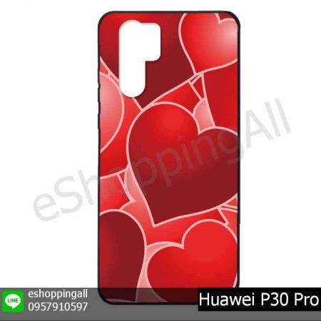 MHW-022A119 Huawei P30 Pro เคสมือถือหัวเหว่ยแบบยางพิมพ์ลาย