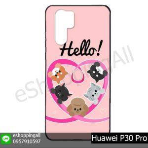MHW-022A120 Huawei P30 Pro เคสมือถือหัวเหว่ยแบบยางพิมพ์ลาย