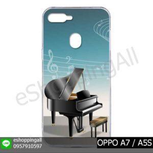 MOP-012A116 OPPO A7 / A5S เคสมือถือออปโป้แบบแข็งพิมพ์ลาย