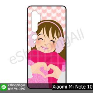 MXI-017A112 Xiaomi Mi Note10 Note10 Pro เคสมือถือเสี่ยวมี่แบบยางนิ่มพิมพ์ลาย