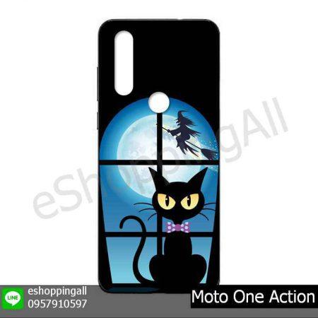 MMT-001A113 Moto One Action เคสมือถือโมโตแบบยางนิ่มพิมพ์ลาย