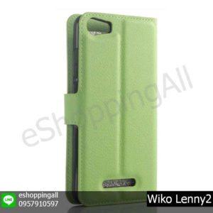 MWI-019A206 Wiko Lenny2 เคสมือถือวีโก้ฝาพับหนัง PU