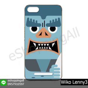 MWI-020A110 Wiko Lenny3 เคสวีโก้แบบยางพิมพ์ลาย
